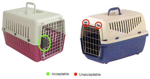 Global Paws Wooden Or Plastic Pet Travel Crates Pet Travel Service