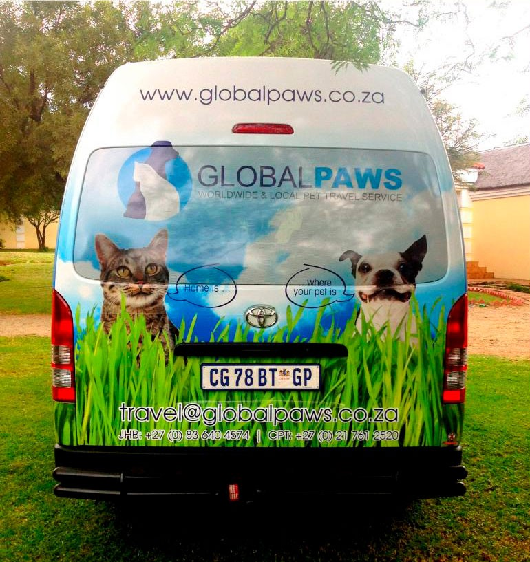 Global Paws Pet Transportation By Road Pet Travel Service