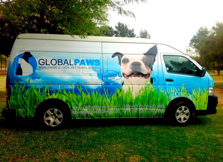 Global Paws Pet transportation by road - pet travel service